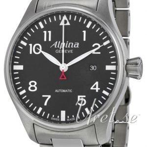 Alpina Startimer Al-525b4s6b Kello Musta / Teräs