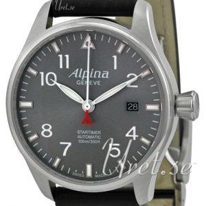 Alpina Startimer Al-525g3s6 Kello Harmaa / Nahka