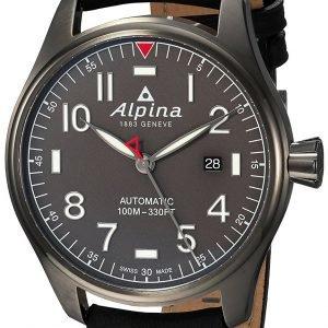Alpina Startimer Al-525g4ts6 Kello Harmaa / Nahka