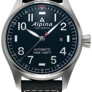 Alpina Startimer Al-525nn4s6 Kello Sininen / Nahka