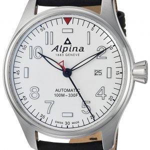 Alpina Startimer Al-525s4s6 Kello Valkoinen / Nahka