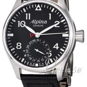 Alpina Startimer Al-710b4s6 Kello Musta / Nahka