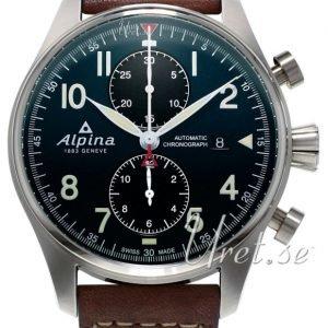 Alpina Startimer Al-725n4s6 Kello Sininen / Nahka
