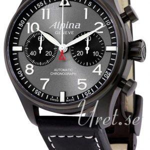 Alpina Startimer Al-860gb4fbs6 Kello Harmaa / Nahka