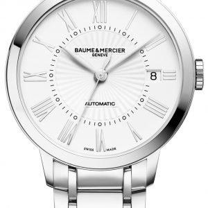 Baume & Mercier Classima M0a10220 Kello Valkoinen / Teräs