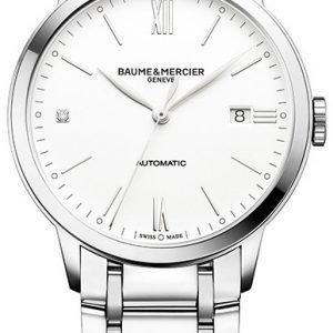Baume & Mercier Classima M0a10311 Kello Valkoinen / Teräs