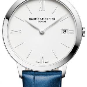 Baume & Mercier Classima M0a10355 Kello Valkoinen / Nahka
