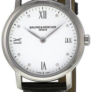 Baume & Mercier Classima Moa10146 Kello Valkoinen / Nahka