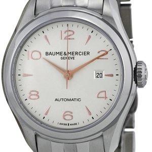 Baume & Mercier Clifton M0a10150 Kello Hopea / Teräs