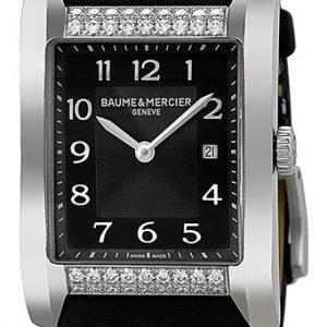 Baume & Mercier Hampton Moa10024 Kello Musta / Satiini