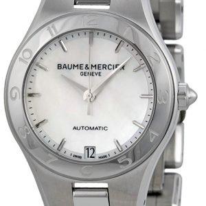 Baume & Mercier Linea Moa10035 Kello Valkoinen / Teräs