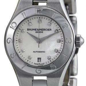 Baume & Mercier Linea Moa10113 Kello Valkoinen / Teräs