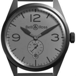 Bell & Ross Br 123 Brv123-Commando Kello Harmaa / Kumi