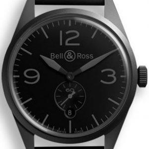 Bell & Ross Br 123 Brv123-Phantom Kello Musta / Kumi