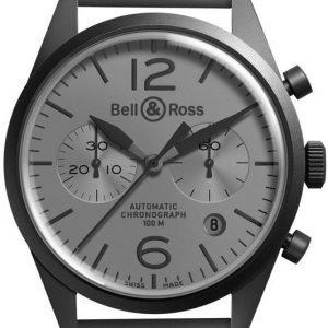 Bell & Ross Br 126 Brv126-Commando Kello Harmaa / Kumi
