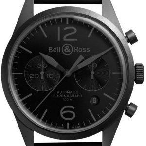 Bell & Ross Br 126 Brv126-Phantom Kello Musta / Kumi