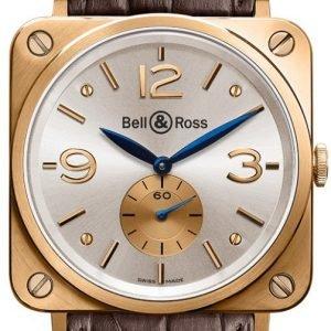 Bell & Ross Br S Mecanique Brs-Pkgold-Pearl_D Kello