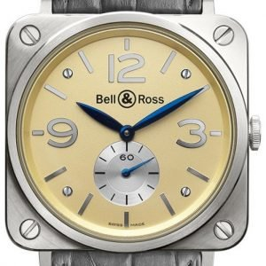 Bell & Ross Br S Mecanique Brs-Whgold-Ivory_D Kello