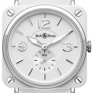 Bell & Ross Br S Quartz Brs-Wh-Ceramic-Sce Kello