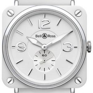 Bell & Ross Br S Quartz Brs-Wh-Ceramic-Srb Kello
