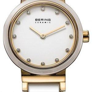 Bering Ceramic 10725-751 Kello Valkoinen / Kullansävytetty
