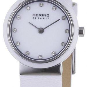 Bering Ceramic 10725-854 Kello Valkoinen / Nahka