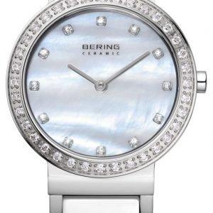 Bering Ceramic 10729-704 Kello Valkoinen / Teräs