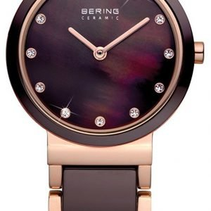 Bering Ceramic 10729-765 Kello Ruskea / Punakultasävyinen
