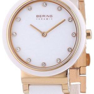 Bering Ceramic 10729-766 Kello Valkoinen / Punakultasävyinen