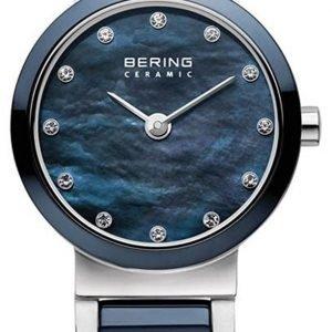 Bering Ceramic 10729-787 Kello Sininen / Teräs