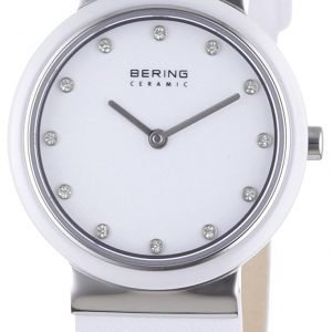 Bering Ceramic 10729-854 Kello Valkoinen / Nahka