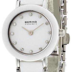 Bering Ceramic 11422-754 Kello Valkoinen / Teräs