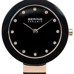 Bering Ceramic 11429-166 Kello Musta / Teräs