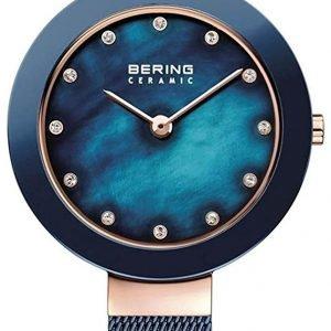 Bering Ceramic 11429-367 Kello Sininen / Teräs