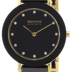 Bering Ceramic 11429-741 Kello Musta / Kullansävytetty Teräs