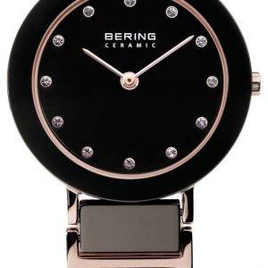 Bering Ceramic 11429-746 Kello Musta / Punakultasävyinen