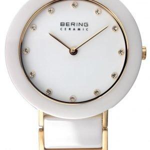 Bering Ceramic 11429-751 Kello Valkoinen / Kullansävytetty