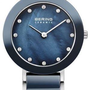 Bering Ceramic 11429-787 Kello Sininen / Teräs
