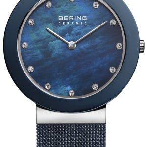 Bering Ceramic 11435-387 Kello Sininen / Teräs