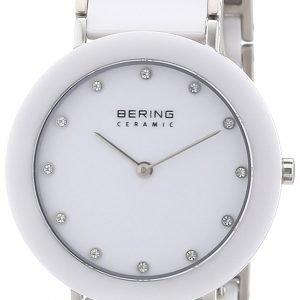 Bering Ceramic 11435-754 Kello Valkoinen / Teräs