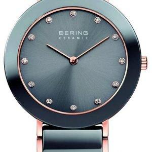 Bering Ceramic 11435-769 Kello Harmaa / Punakultasävyinen