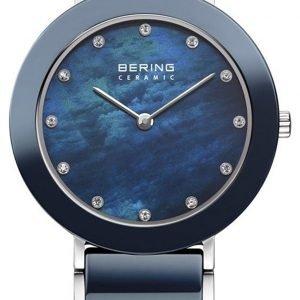 Bering Ceramic 11435-787 Kello Sininen / Teräs