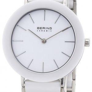 Bering Ceramic 11435-794 Kello Valkoinen / Teräs