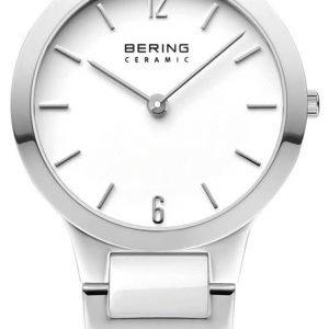 Bering Ceramic 30329-754 Kello Valkoinen / Teräs