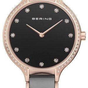 Bering Ceramic 30434-746 Kello Musta / Punakultasävyinen