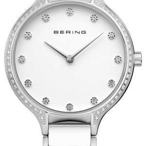 Bering Ceramic 30434-754 Kello Valkoinen / Teräs