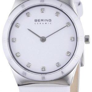 Bering Ceramic 32230-684 Kello Valkoinen / Nahka