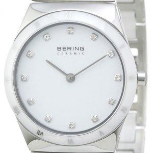 Bering Ceramic 32230-764 Kello Valkoinen / Teräs