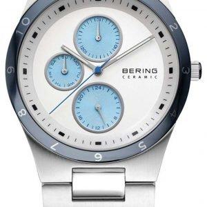 Bering Ceramic 32339-707 Kello Valkoinen / Teräs