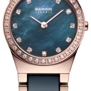 Bering Ceramic 32426-767 Kello Sininen / Punakultasävyinen